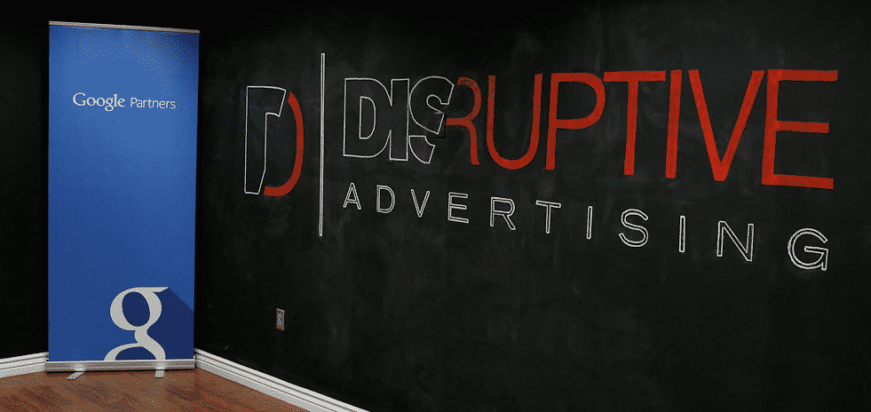 Google Partners - Disruptive Advertising logo - Disruptive Advertising