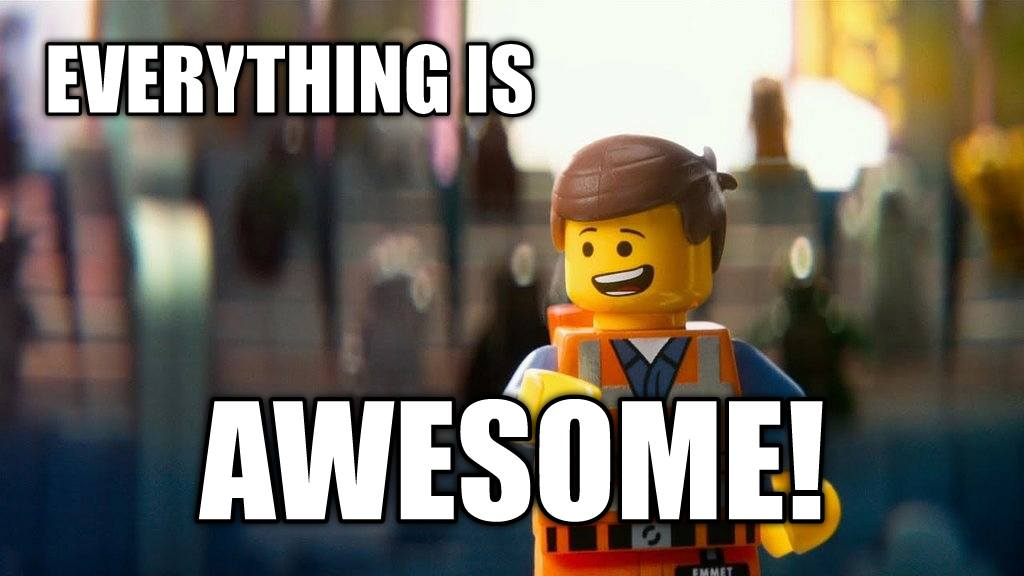 Lego Movie - Everything Is Awesome - Disruptive Advertising