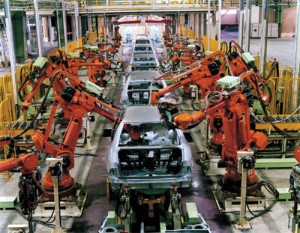Automotive-assembly-line
