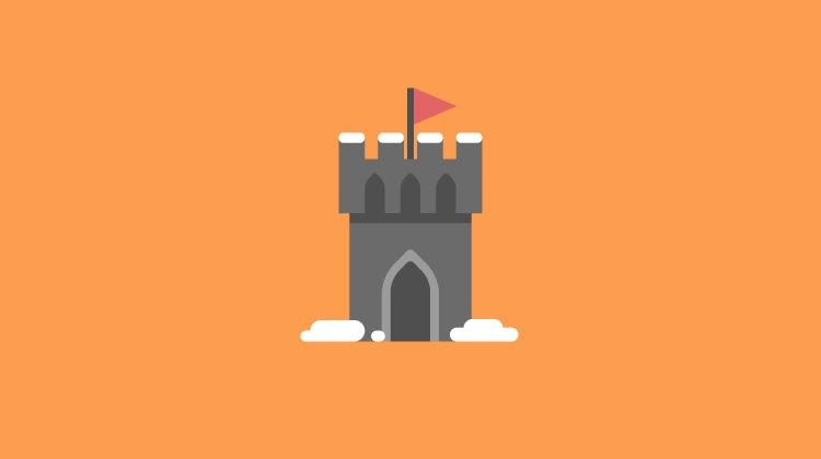 Game of Thrones Castle Icon - Disruptive Advertising
