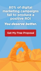 80% of Digital Marketing Campaigns Fail to Produce ROI - You Deserve Better - Free Proposal - Disruptive Advertising