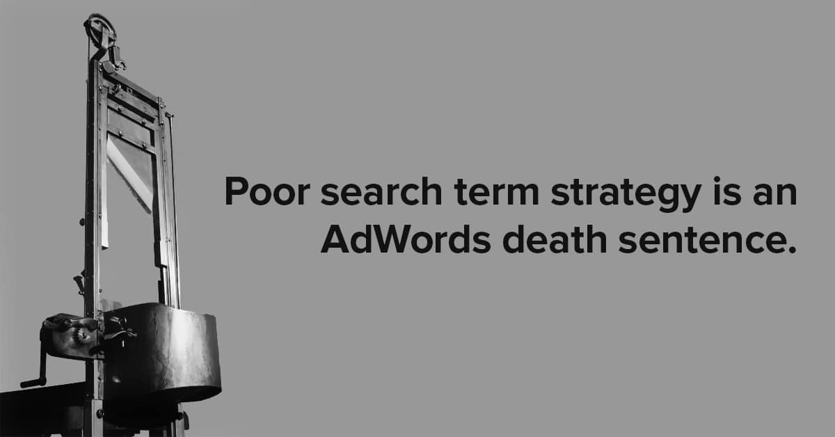 poor-search-term-strategy