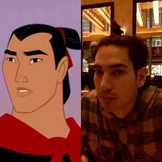 This is who I married: Shang, from Mulan.