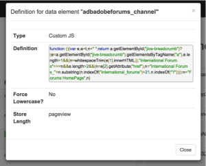 dtm-debugger-data-element-definition-custom-js
