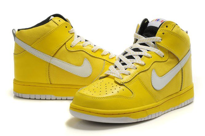 Who wouldn't want yellow Nikes?