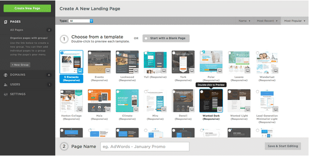 Unbounce Templates | Disruptive Advertising