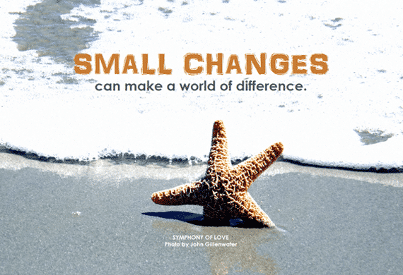 Small Changes | Disruptive Advertising