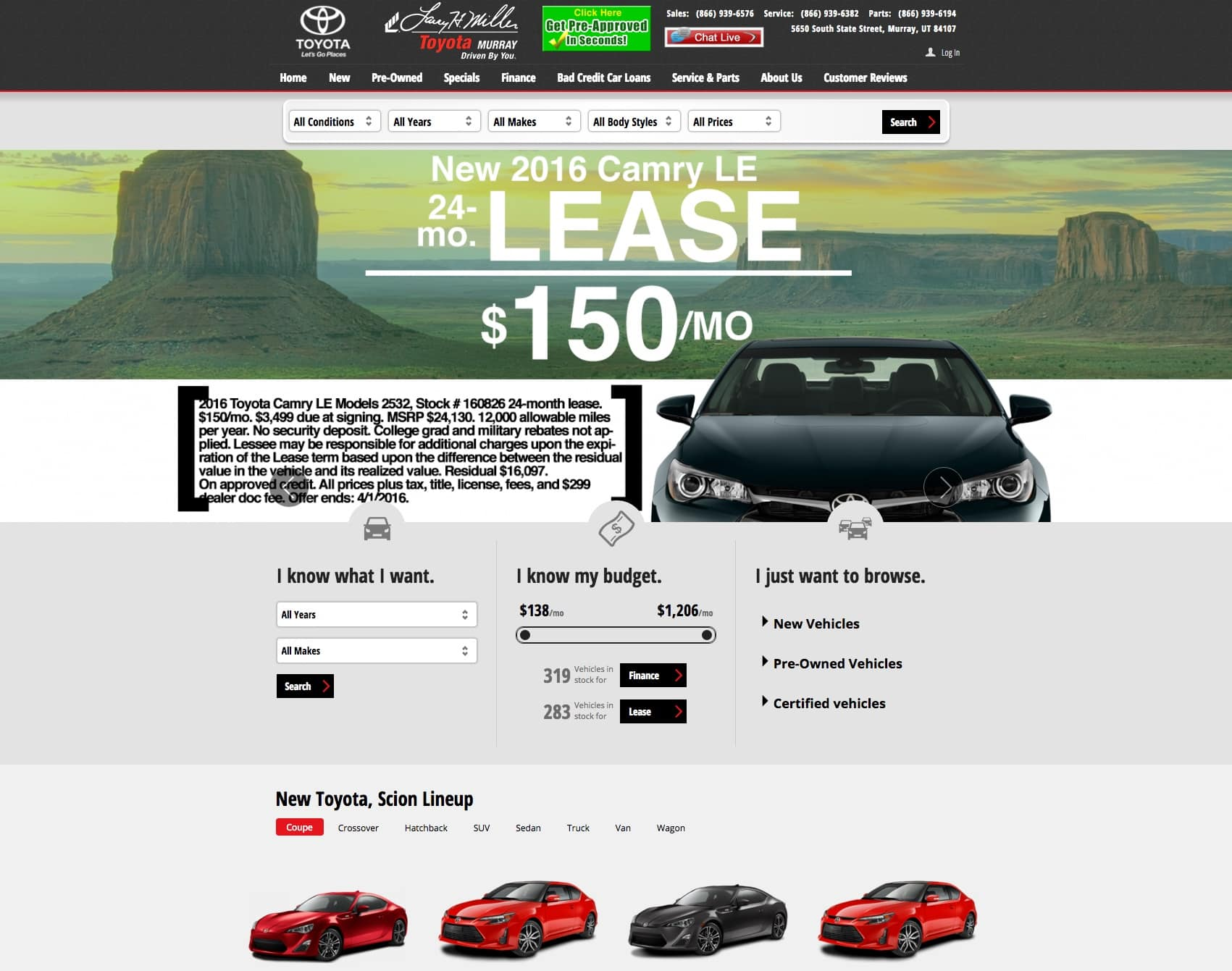 Toyota Homepage | Disruptive Advertising