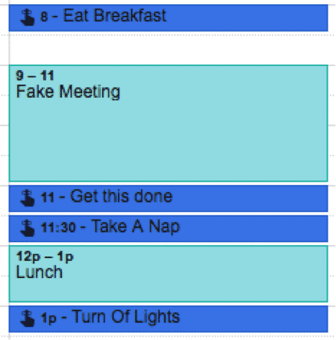 Scheduling Tasks into Your Calendar | Disruptive Advertising
