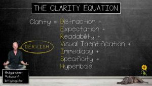 Oli Gardner's Clarity Equation | Disruptive Advertising