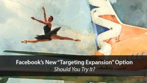 Facebook's New Targeting Expansion Option – Should You Try It? | Disruptive Advertising