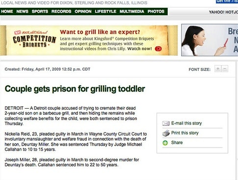 Bad Display Ads – Grill Like an Expert | Disruptive Advertising