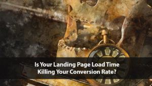 Is Your Landing Page Load Time Killing Your Conversion Rate?   Disruptive Advertising