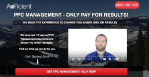 AdFicient's Landing Page Video | Disruptive Advertising