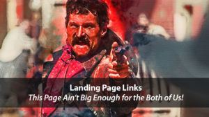 Are Your Landing Page Links Killing Your Conversion Rate? | Disruptive Advertising