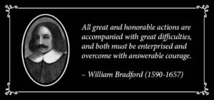William Bradford Quote | Disruptive Advertising