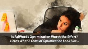 What Do 2 Years of AdWords Optimization Look Like? | Disruptive Advertising