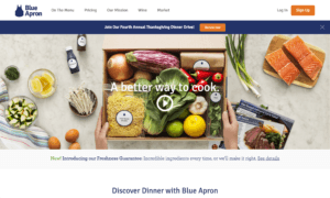 Blue Apron Landing Page Video | Disruptive Advertising