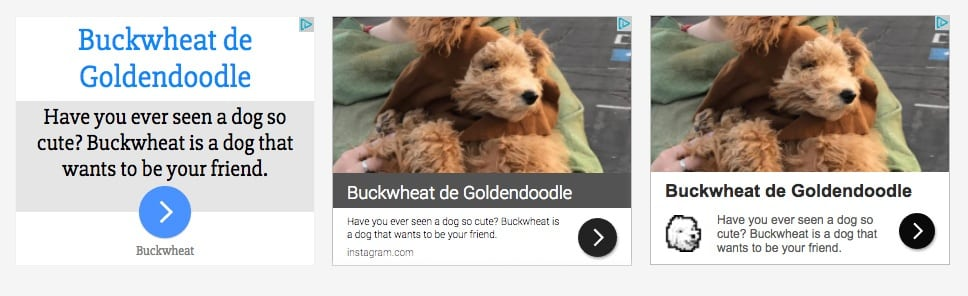 Buckwheat on GDN Responsive Ads | Disruptive Advertising