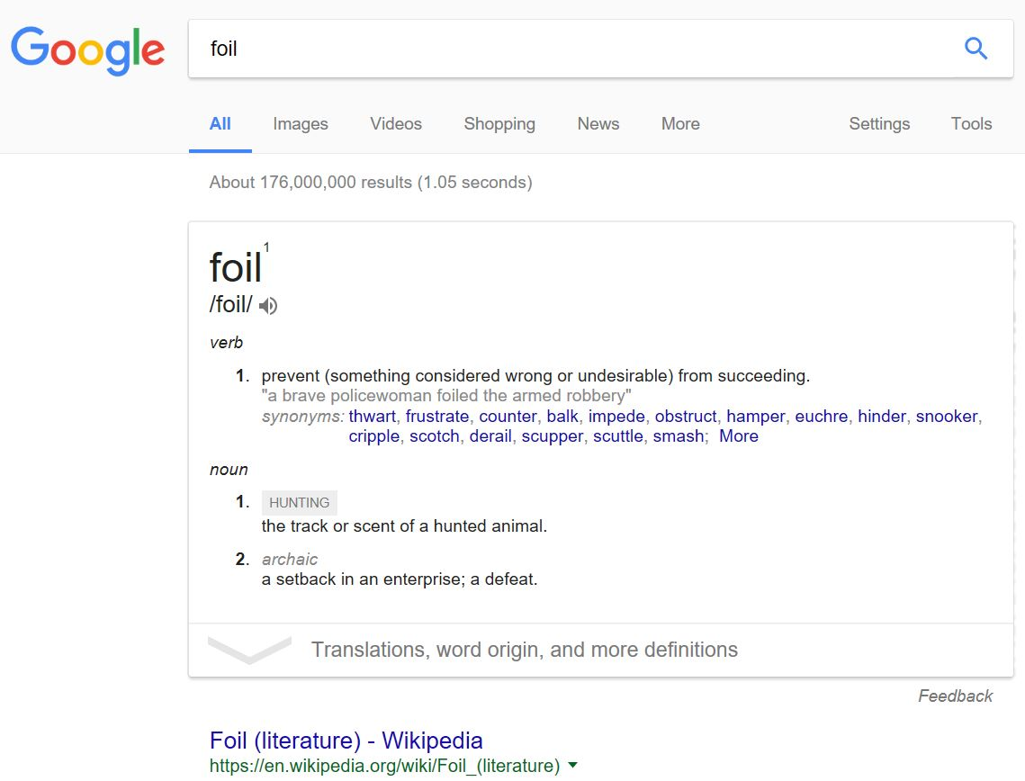 Google's New Definition of