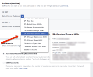 How to Split Test Facebook Ad Marketing Objectives: Audiences | Disruptive Advertising