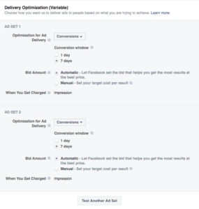 How to Split Test Facebook Ad Marketing Objectives: Delivery Optimization   Disruptive Advertising
