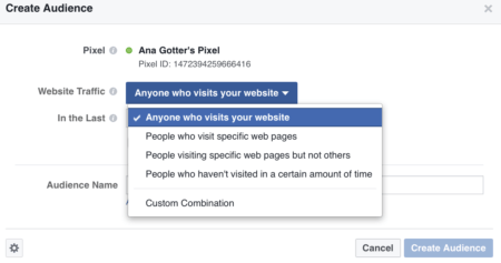 refine facebook ad targeting