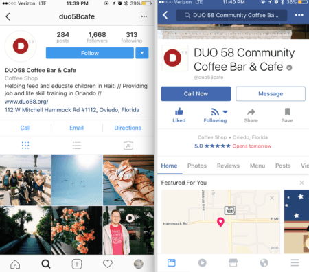 reach local audiences with Instagram Ads