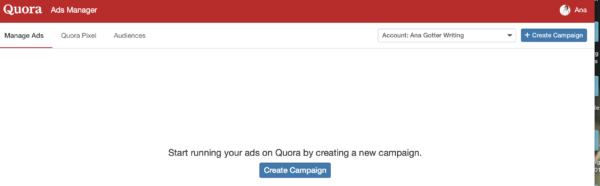 how to run Quora Ads