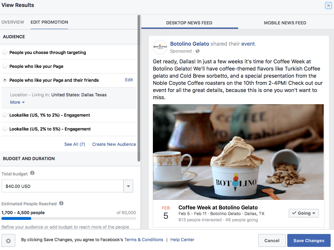Facebook Ad event strategies