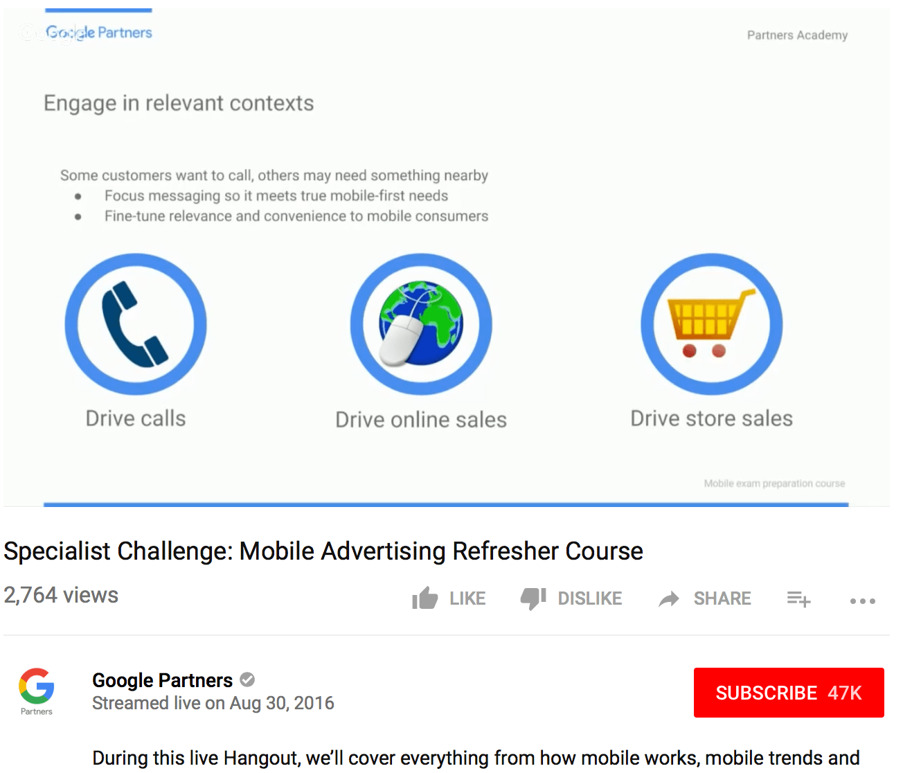 best free Adwords tutorials