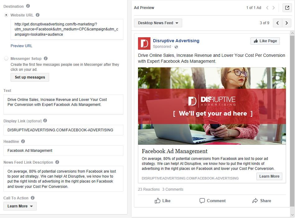 Facebook Ads Manager: The Essential Guide   Disruptive