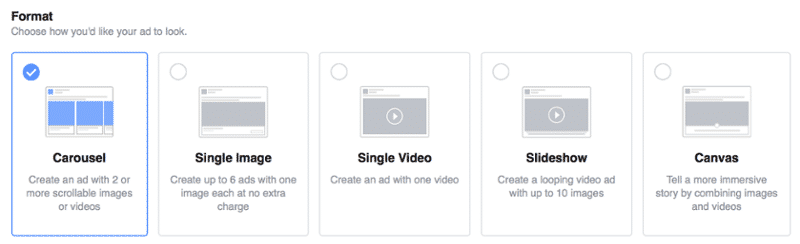 facebook ad size and specs made easy (what you need to knowad formats
