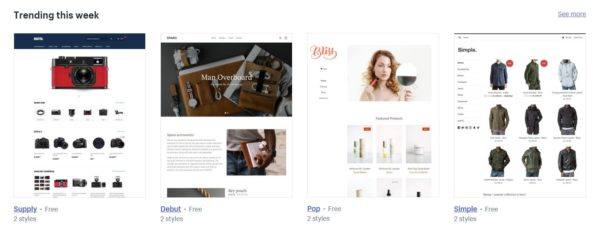 Ecommerce Platform Themes: Shopify | Disruptive Advertising