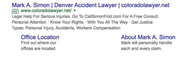 Google AdWords for law firms