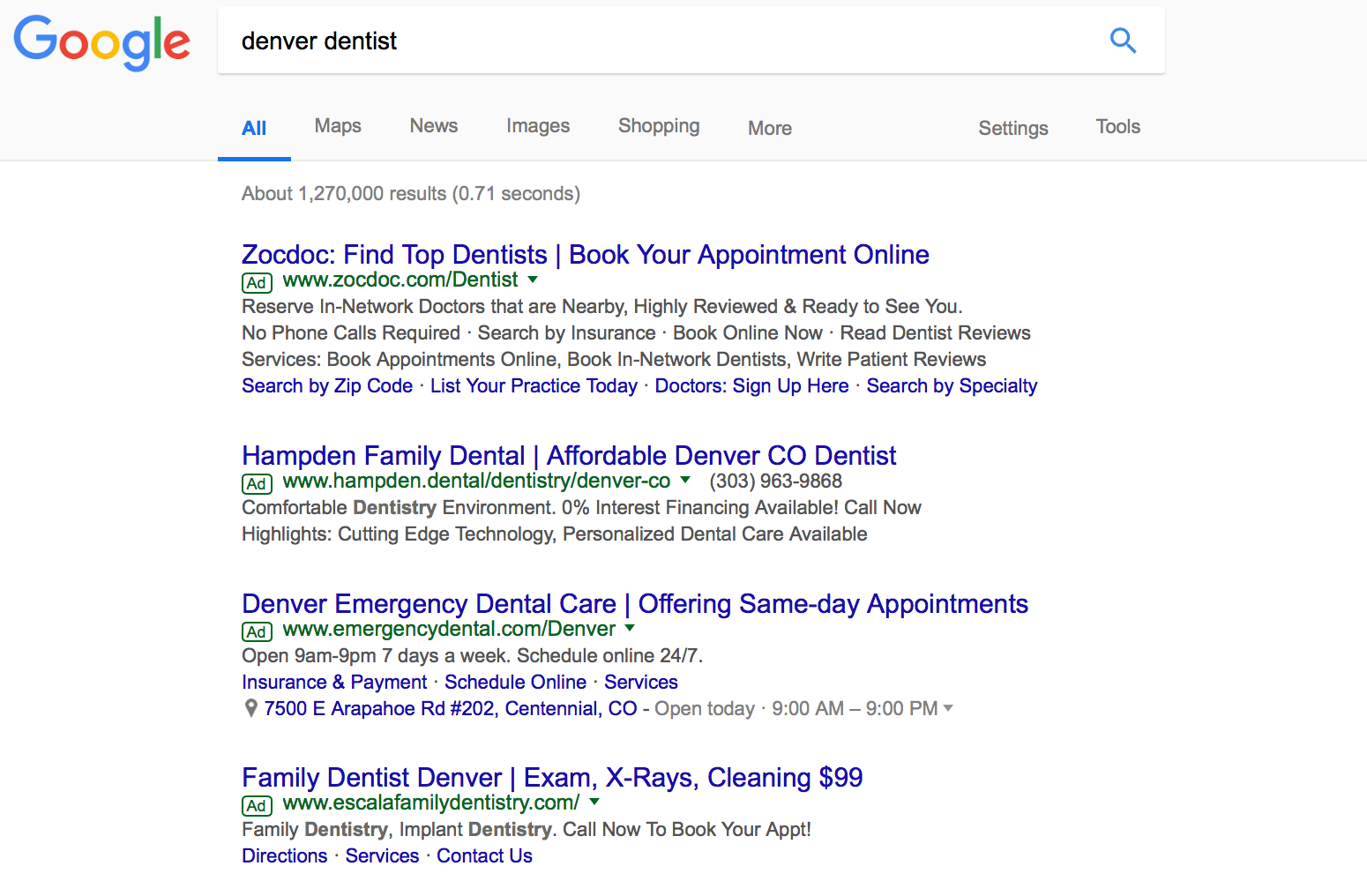 dental marketing methods