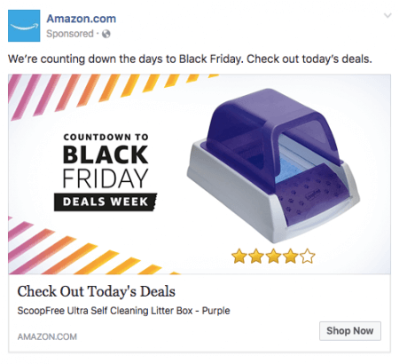 Make Your Black Friday Ecommerce Sales Boom With Facebook Ads